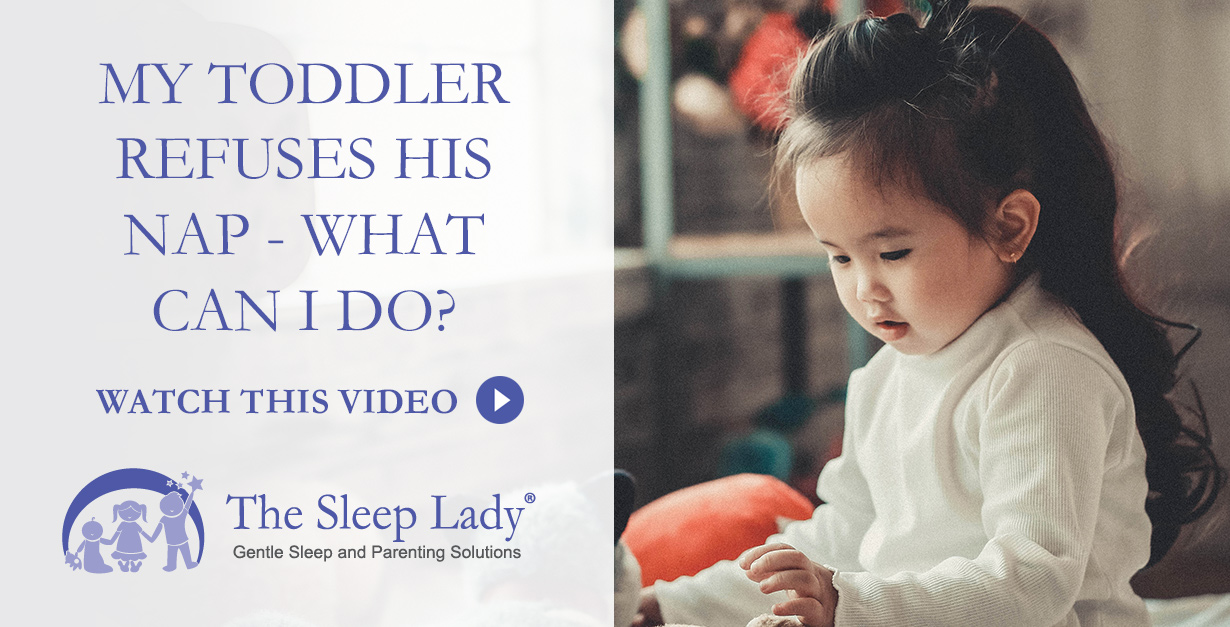 My Toddler Refuses to Nap --- What Can I Do?