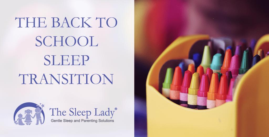 back to school sleep
