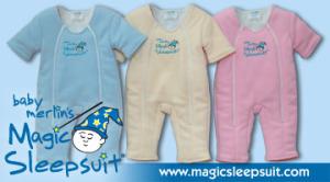 Magic Sleepsuit Image with website