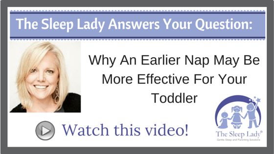 Question of the week_ Why An Earlier Nap May Be More Effective For Your Toddler