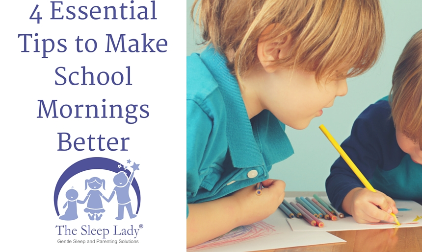 Are school mornings a struggle? Use these tips to make them better!