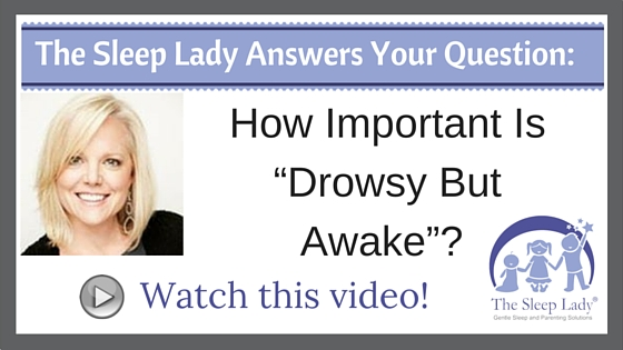 "How Important Is ""Drowsy But Awake""?"