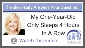 Question of the week- My One-Year-Old Only Sleeps 4 Hours In A Row
