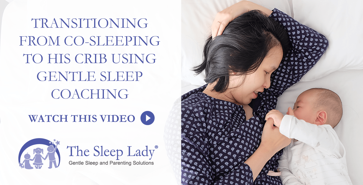 transitioning from co-sleeping