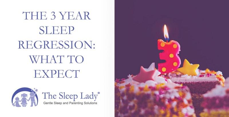 3 year sleep regression