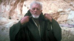Alec Guiness, Obi-Wan Kenobi, Star Wars Episode IV: A New Hope