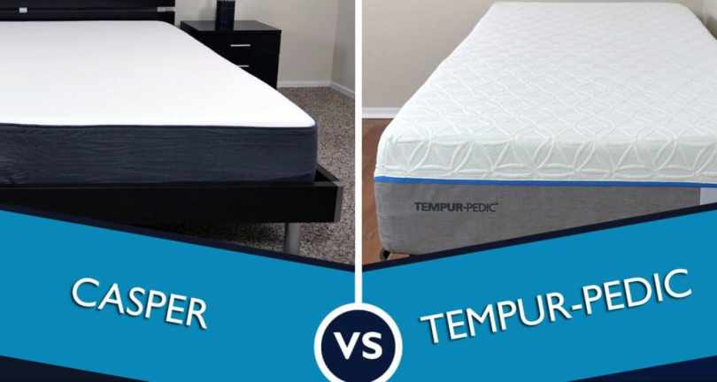 Casper vs  Tempurpedic Mattress Review   Sleepopolis Tempur pedic   who will win this mattress battle