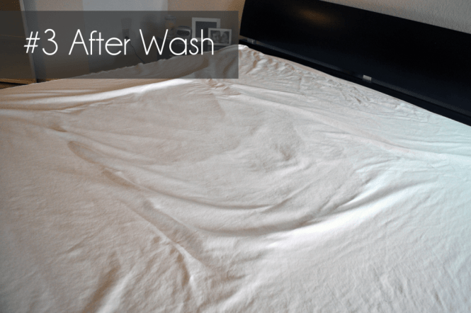 3 Mattress Protector After Completing The Liquid Tests Washing Cycle