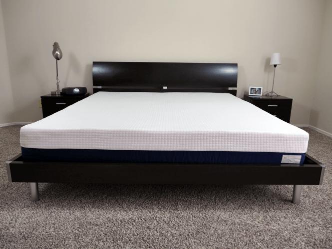 Helix Mattress King Size On Platform Bed