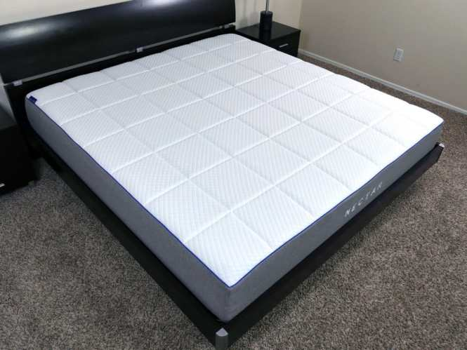 Angled View Of The Nectar Mattress