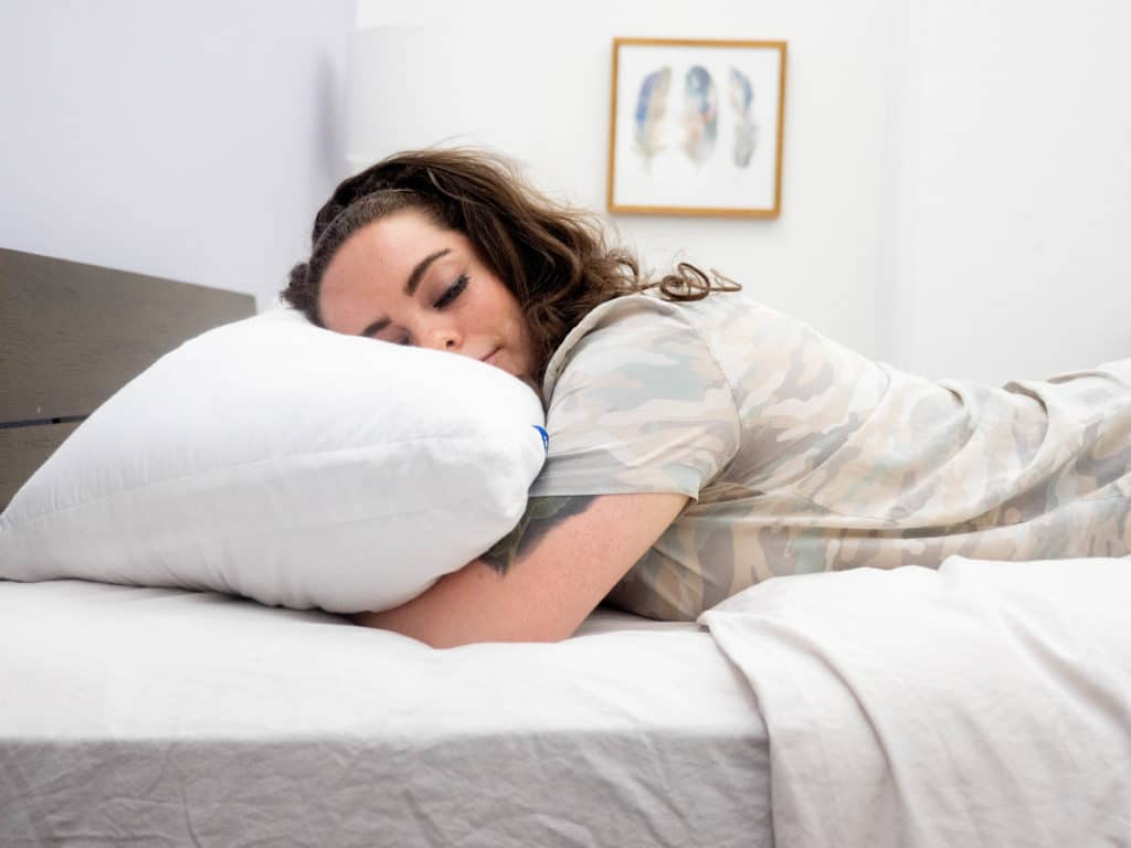 casper pillow stomach sleeper online
