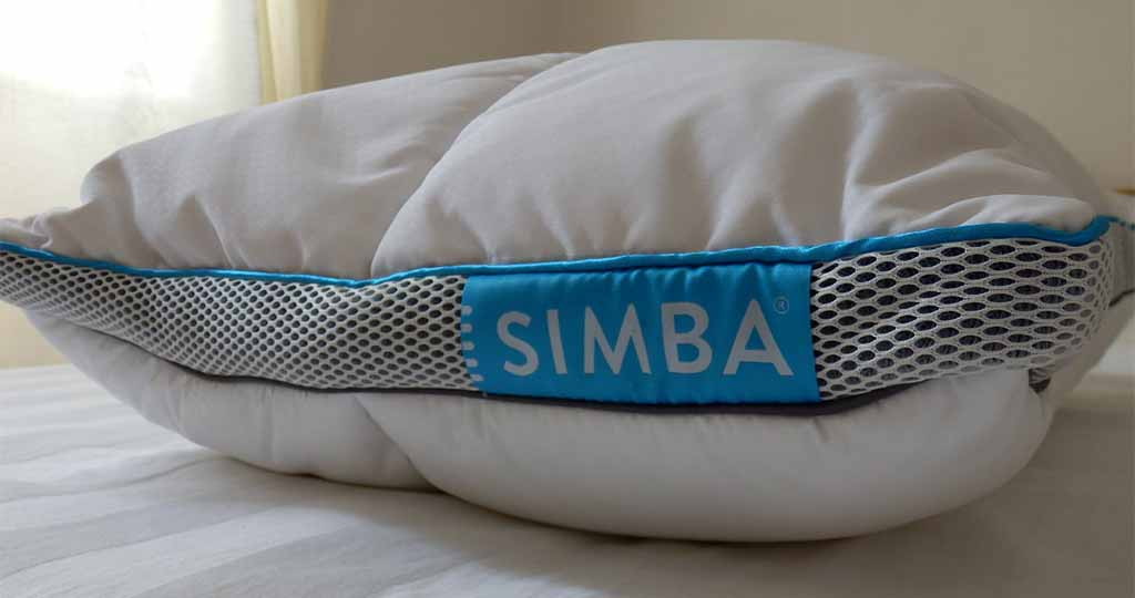 oreiller Simba détail