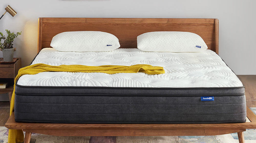 sweetnight 12 inch pillow top hybrid