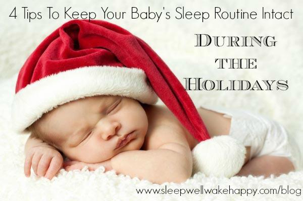 Baby Holiday Sleep Tips