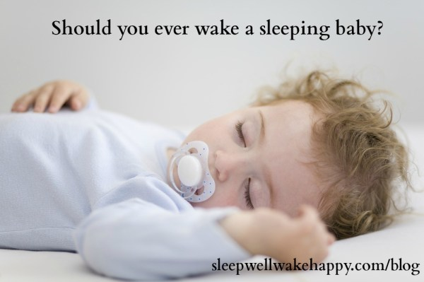 Never Wake A Sleeping Baby
