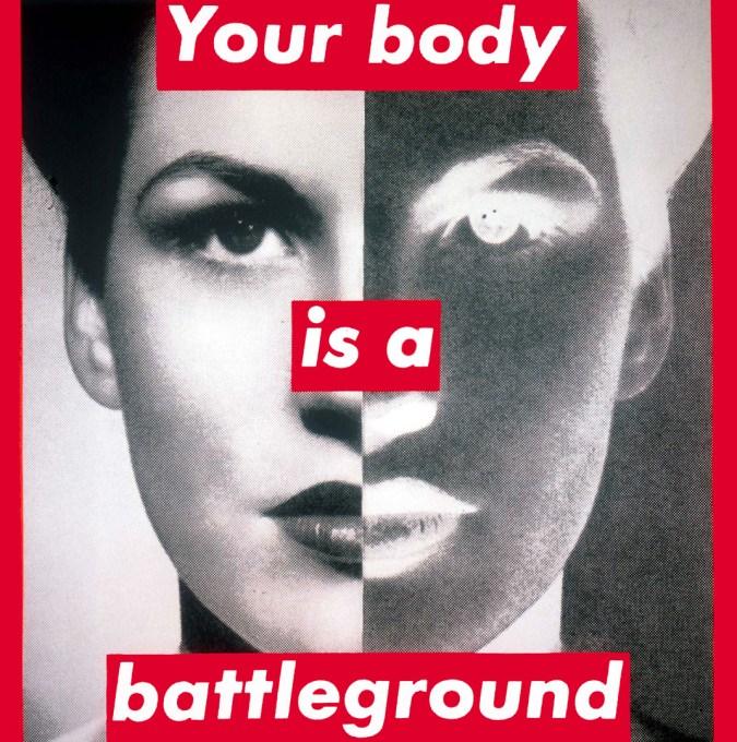 Your Body Is A Battleground, 1989