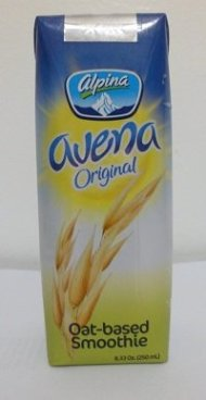 Alpina Avena Original Oat-based Smoothie 8.33 Oz (250 ml) (Pack of 8)