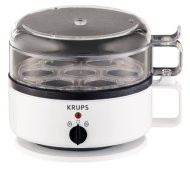 KRUPS F2307051 Egg Cooker, White