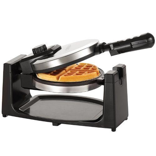 BELLA 13991 Rotating Waffle Maker, Polished Stainless Steel