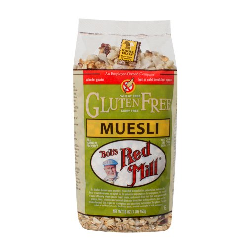 Bob's Red Mill Gluten Free Muesli,  16 Ounce (Pack of 4)