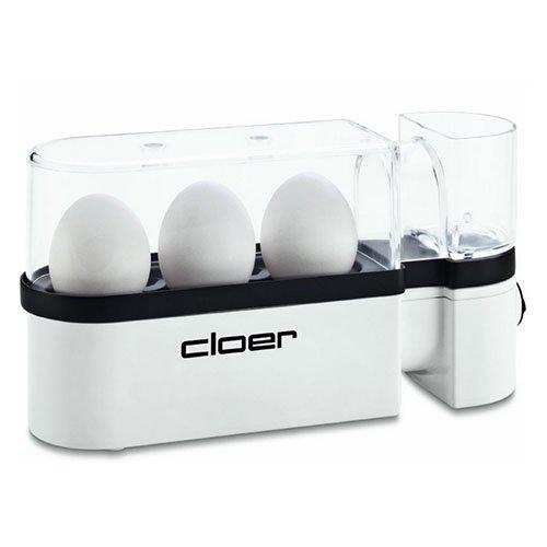 Cloer 6021NA Egg Boiler, 3 Egg, White