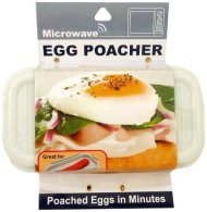 Economy Kitchen Accessory Microwave Egg Poacher