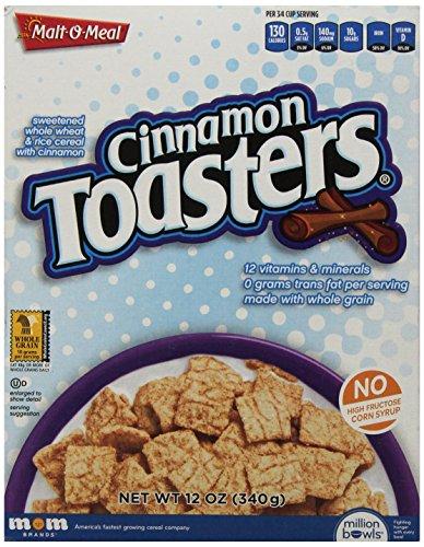 Mom Brand Cinammon Toasters, 12 Ounce