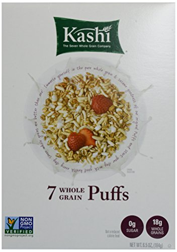 Kashi 7 Whole Grain Puffs Cereal, 6.5 Ounce