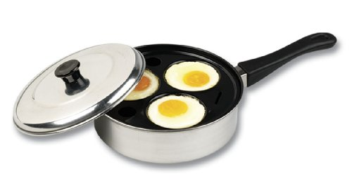 Better Houseware 441/3 Non-Stick 3-Cup Egg Poacher
