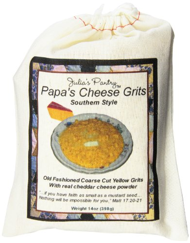 Julia's Pantry Papa's Cheese Grits, 14 Ounce
