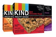 KIND Healthy Grains Granola Bars, Variety Pack, 1.2oz Bars, 15 Count