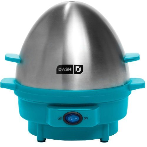 Dash Kitchen 7-Egg Rapid Egg Cooker, Blue