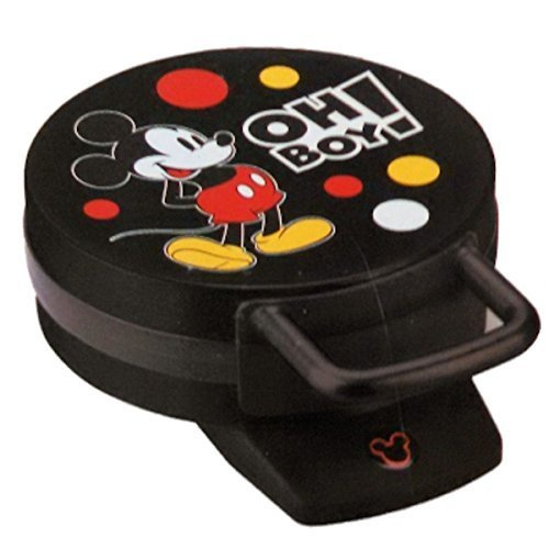 "Disney Mickey Mouse Waffle Maker ""Oh Boy!"""