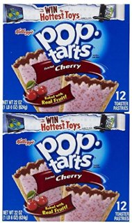 Kellogg's Pop-Tarts Toaster Pastries – Frosted Cherry – 12 ct