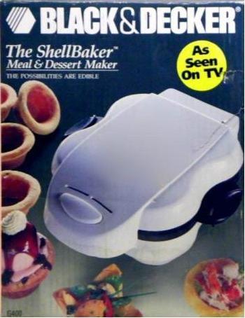 Black & Decker The Shell Baker Meal & Dessert Maker