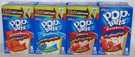 Pop Tarts Variety Pack, Frosted FRUIT Flavors: Strawberry, Blueberry, Cherry, and Rasberry. Bundle of 4- 8 Count Boxes, 1 of Each Flavor. Great Care Package or Gift