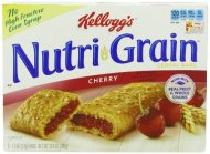 Nutri-Grain Cereal Bars, Cherry, 8-Count 1.3 Oz. Bars (Pack of 6)