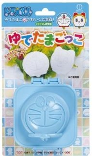 KOKUBO Hard-Boiled Egg Shaper, Doraemon, Blue