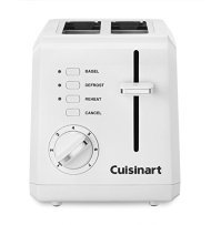 Cuisinart CPT-122FR Compact 2-Slice Toaster (Certified Refurbished), White