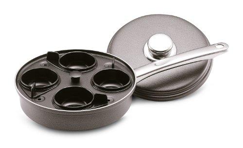 Farberware Aluminum Nonstick 4-Cup Egg Poacher Skillet