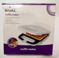 Rival Waffle Maker (White)