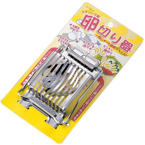 1 X Japanese Stainless Steel Egg Slicer Cutter #7527
