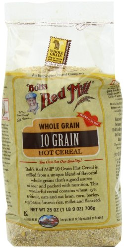 Bob's Red Mill Cereal 10 Grain, 25-Ounce (Pack of 4)