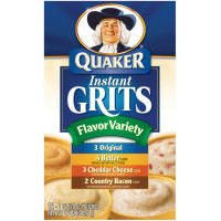 Quaker Flavor Variety Instant Grits, 2 Pack