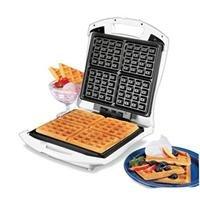 Hamilton Beach 26050 Four Square Belgian Waffle Maker