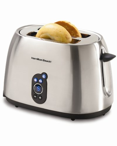 Hamilton Beach 22502 Digital 2-Slice Toaster