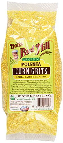 Bob's Red Mill Organic Corn Grits/Polenta, 24 oz, 2 pk