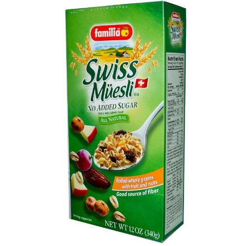 Familia Swiss Muesli – No Sugar, 12-Ounce