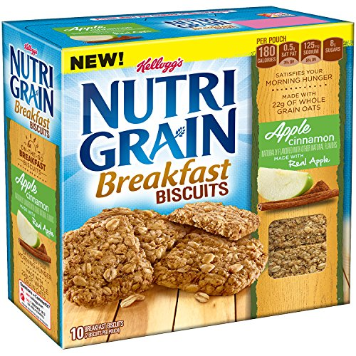Nutri-Grain Breakfast Biscuits Apple Cinnamon, 7 Ounce