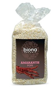Biona Original Amaranth Pops 100g (Pack of 5)